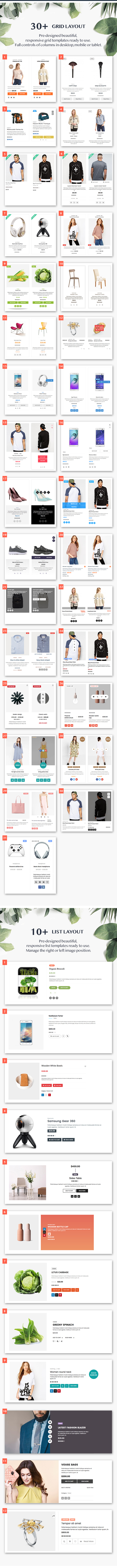 WOO Product Grid/List Design- Responsive Products Showcase Extension for Woocommerce - 2