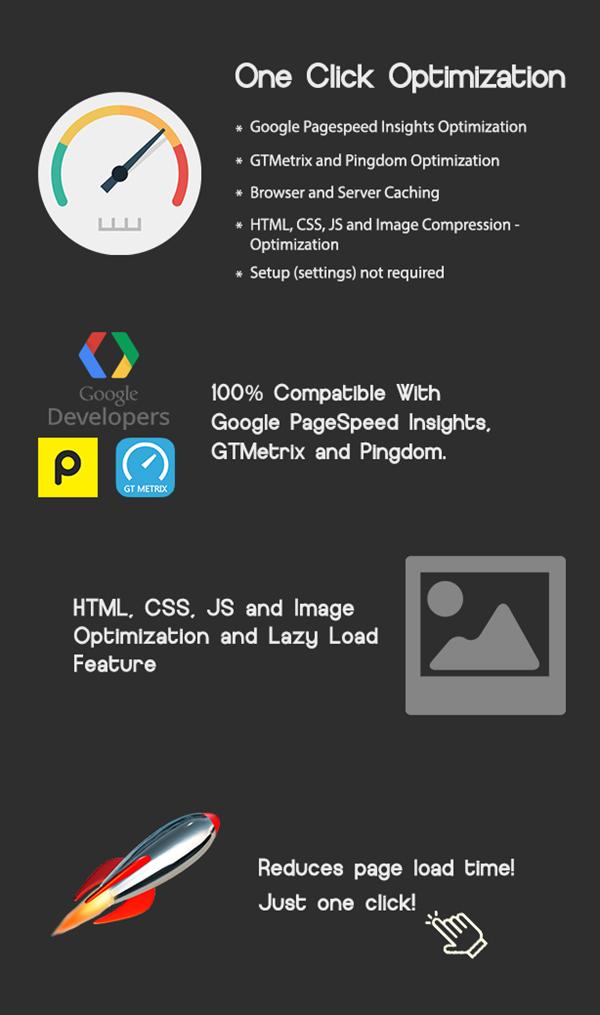 One Click - WordPress Speed & Performance Optimization - 1