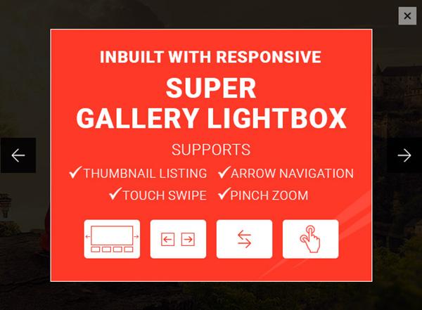 Super Gallery Responsive Lightbox