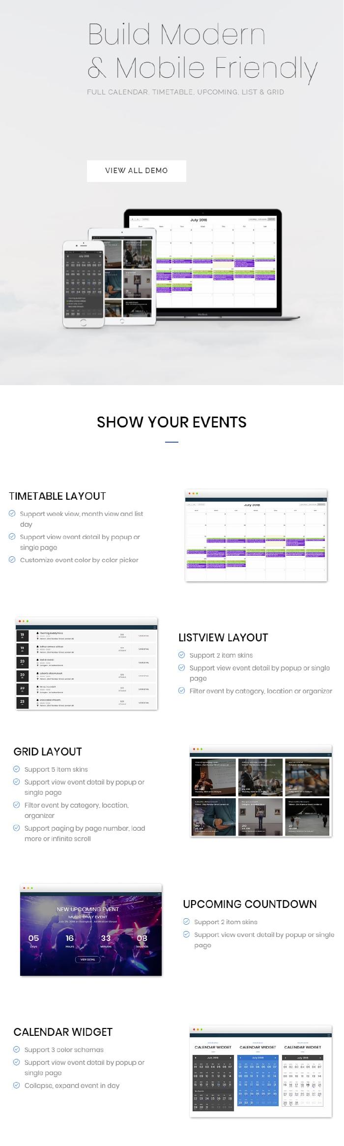 FAT Event - WordPress Event and Calendar Booking - 4