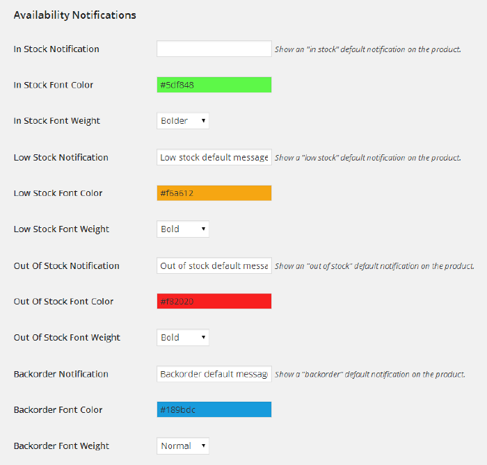 WooCommerce Availability Notifications - 6