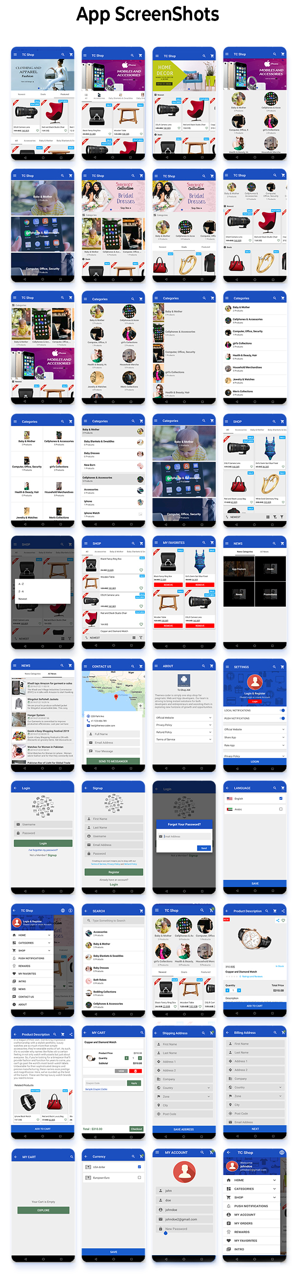 Android Woocommerce - Universal Native Android Ecommerce / Store Full Mobile Application - 8
