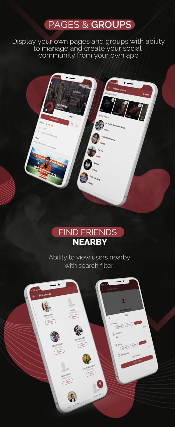 Mobile Native Social Timeline Applications - For WoWonder Social PHP Script - 6