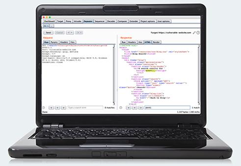 Burp Suite Community Edition Laptop