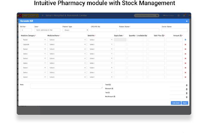 Smart Hospital : Hospital Management System - 12