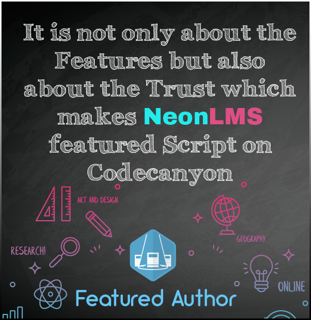 NeonLMS - Learning Management System PHP Laravel Script - 1