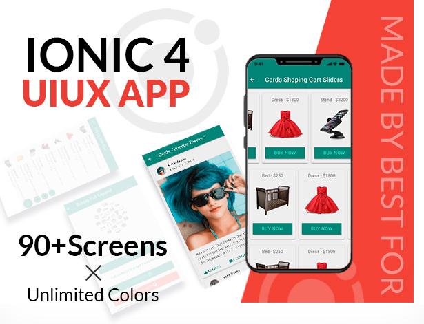 UIUX - IONIC 4 UI Design Components   Multipurpose Starter App - 1