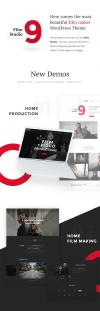 Filmmaker Director Film Studio WordPress Theme - New Demos