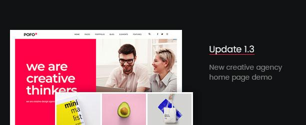 Pofo - Creative Agency, Corporate and Portfolio Multi-purpose Template - 5