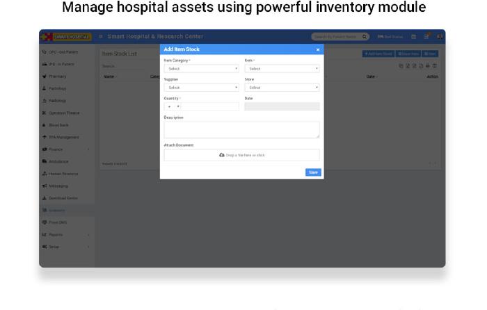 Smart Hospital : Hospital Management System - 19