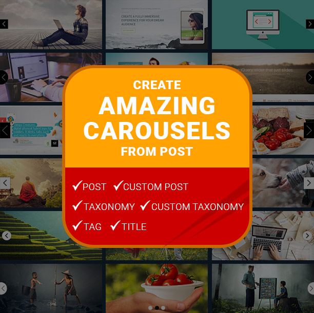 Post and Custom Post Carousels