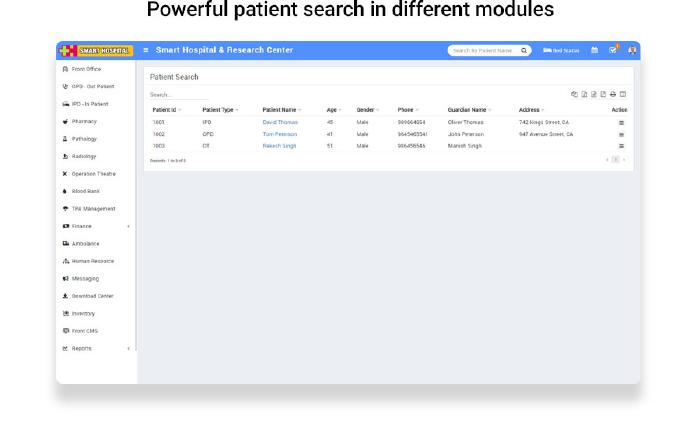 Smart Hospital : Hospital Management System - 24