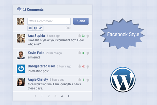 CommentPress - Ajax Comments, Insert, Edit and Delete Comments for WP - 4