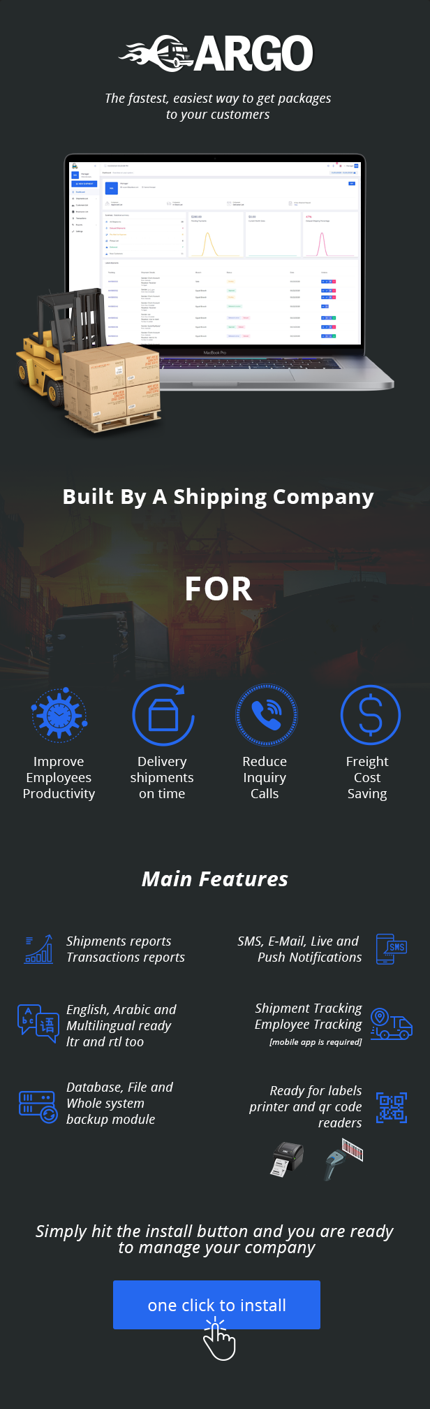 Cargo Pro - Courier System - 1