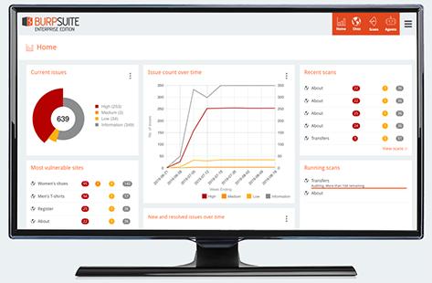 Burp Suite Enterprise Edition Monitor