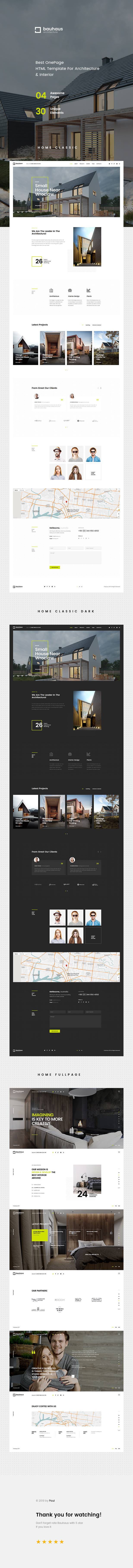 Bauhaus - Architecture & Interior Landing Page HTML Template - 6