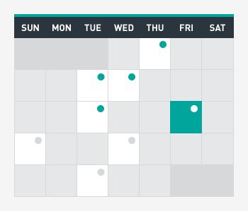 SportsPress Pro Event Calendar