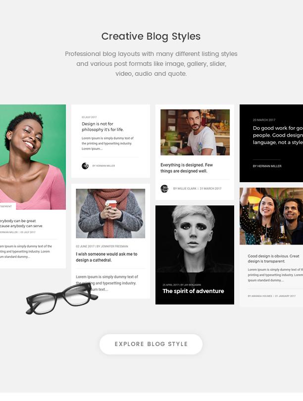 Pofo - Creative Agency, Corporate and Portfolio Multi-purpose Template - 17