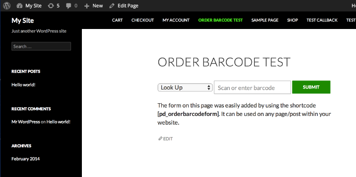 Order Barcodes for WooCommerce - 4