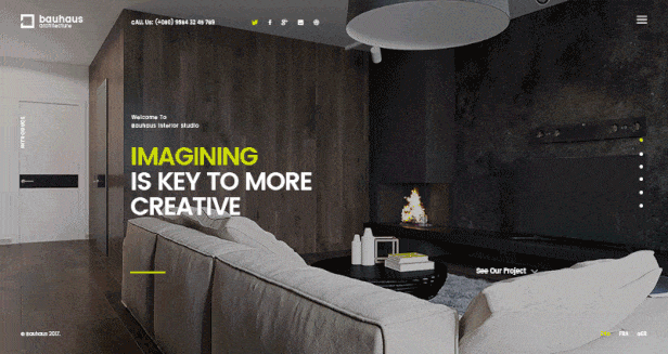 Bauhaus - Architecture & Interior Landing Page HTML Template - 5