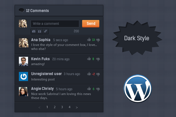 CommentPress - Ajax Comments, Insert, Edit and Delete Comments for WP - 5