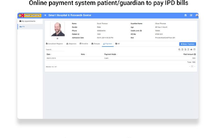 Smart Hospital : Hospital Management System - 23