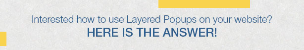 Popup Plugin for WordPress - Layered Popups - 6