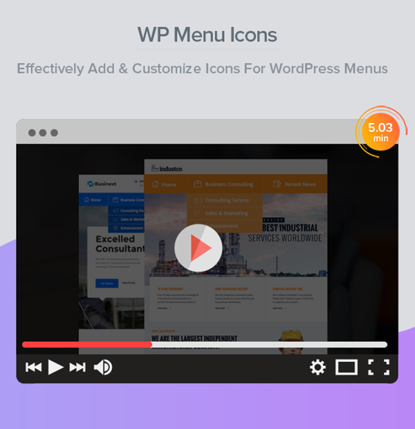 WP Menu Icons - Effectively Add & Customize Icons For WordPress Menus - 2