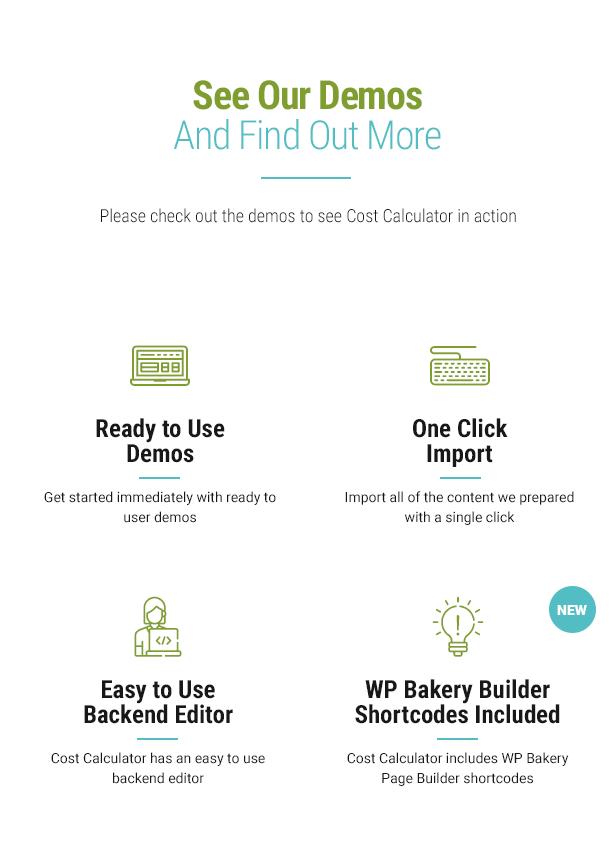 Cost Calculator WordPress Plugin - 8