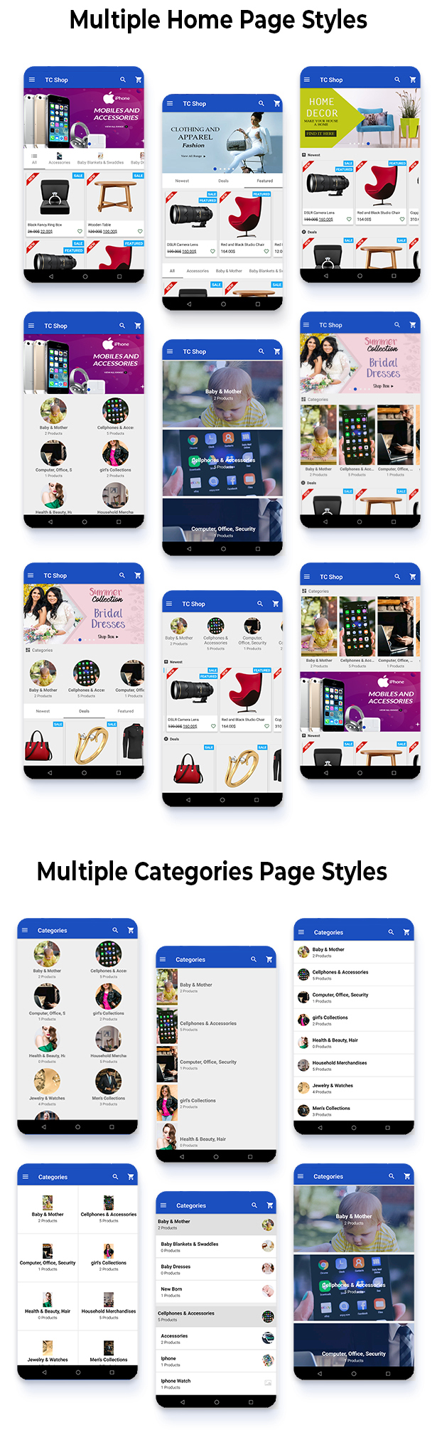 Android Woocommerce - Universal Native Android Ecommerce / Store Full Mobile Application - 6
