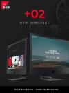 Filmmaker Director Film Studio WordPress Theme - 2 new Homepages