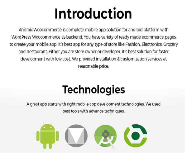 Android Woocommerce - Universal Native Android Ecommerce / Store Full Mobile Application - 3