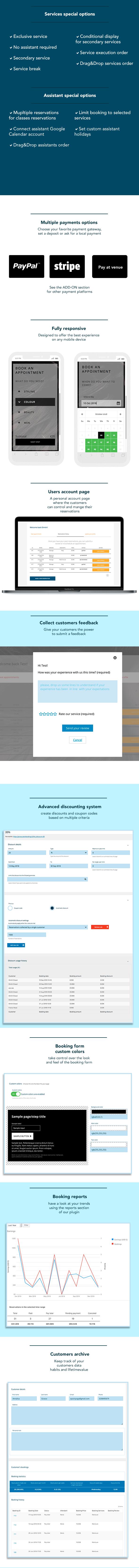 Salon Booking Wordpress Plugin - 2