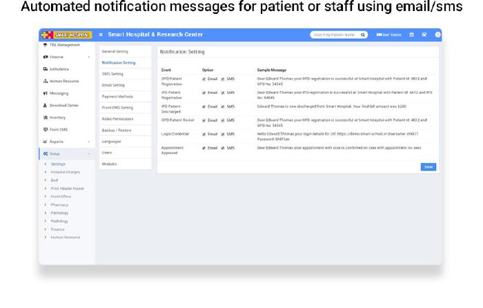 Smart Hospital : Hospital Management System - 27
