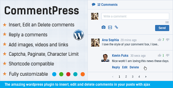 CommentPress - Ajax Comments, Insert, Edit and Delete Comments for WP - 12