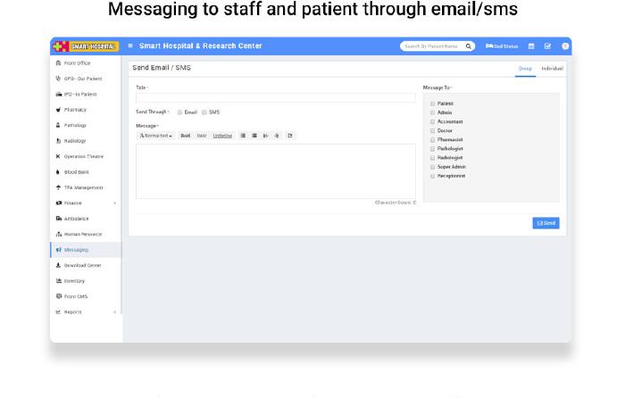 Smart Hospital : Hospital Management System - 26