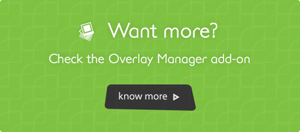 overlay manager add-on