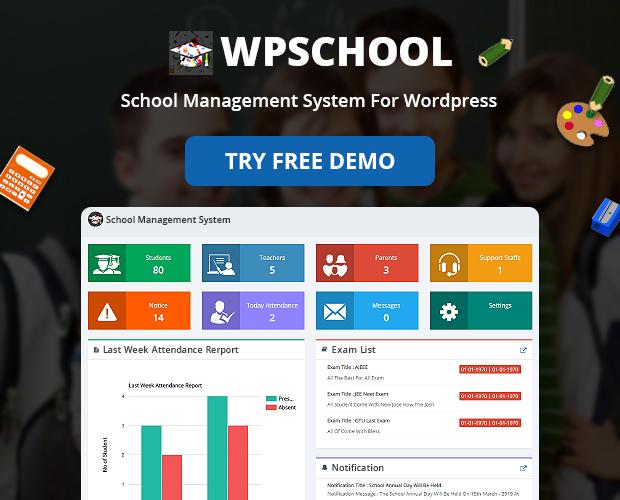 student admission School Management System