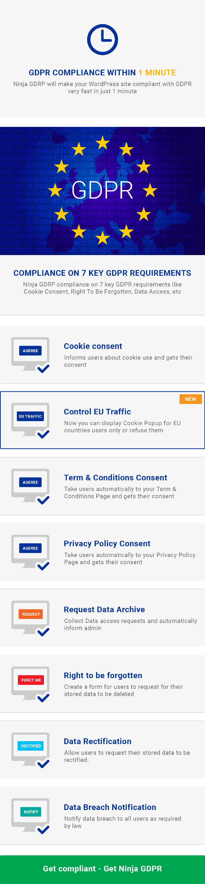 WordPress GDPR Compliance 2019 - 4